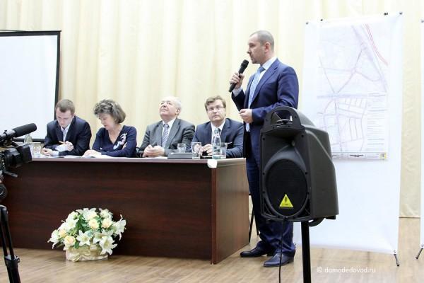 Повторные слушания по проекту дублера Каширского шоссе в Домодедово (16)