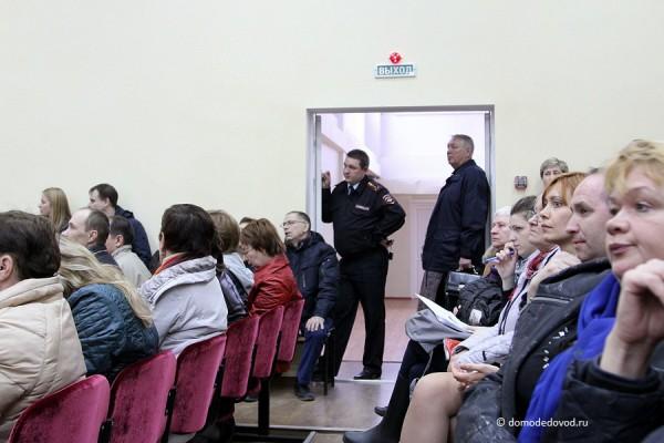 Повторные слушания по проекту дублера Каширского шоссе в Домодедово (17)