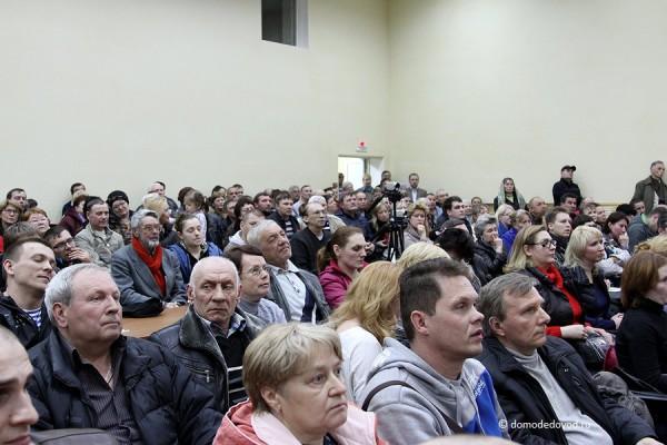 Повторные слушания по проекту дублера Каширского шоссе в Домодедово (19)