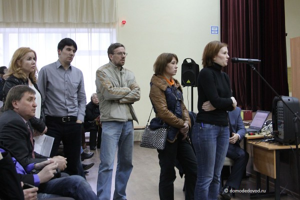 Жители Домодедово задают вопросы на слушаниях по дублеру Каширского шоссе