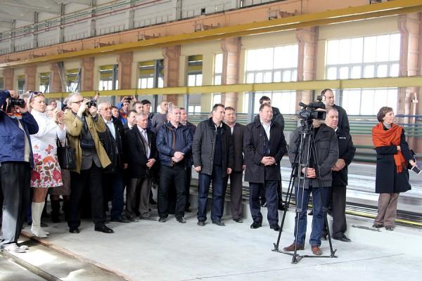Открытие новой линии СУ-155 на ДЗЖБИ