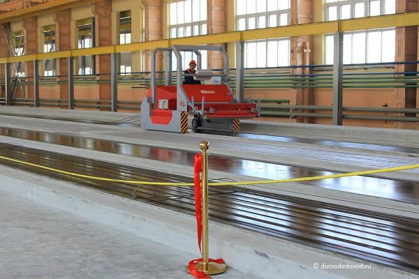 новая линия по производству плит в Домодедово СУ-155