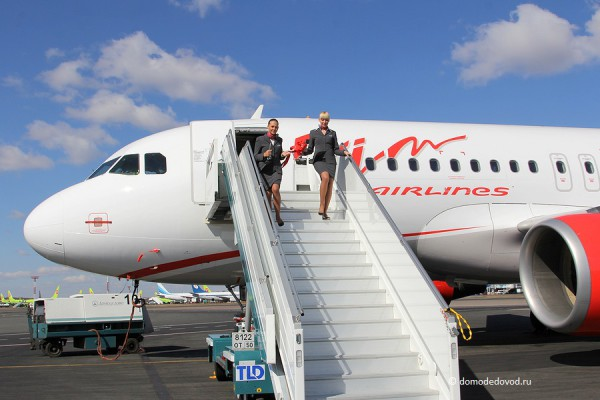 "Самолет Airbus 319 ""Вим Авиа"""