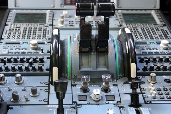"""В кабине самолета Airbus 319 """"Вим Авиа"""""""