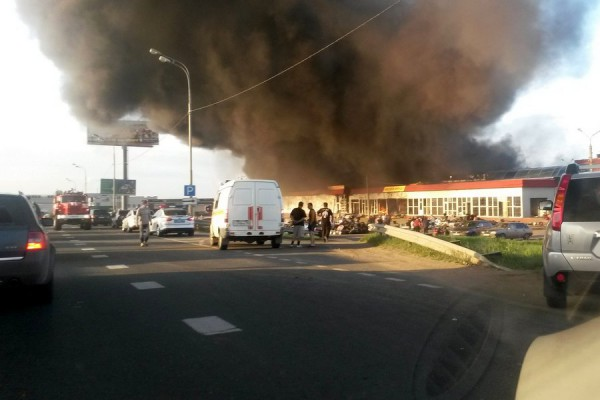 "Пожар на рынке ""Покрова"""