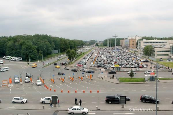 Привокзальная площадь и Дорога А-105 Москва — Аэропорт Домодедово