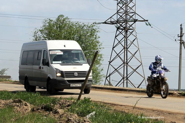 Маршрутное такси в Новое Домодедово