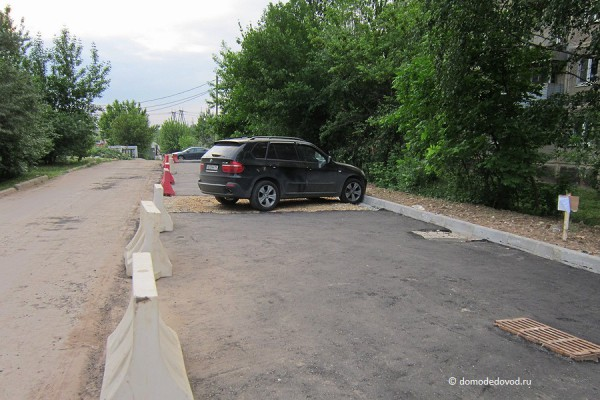 Парковочные карманы на улицах города (8)