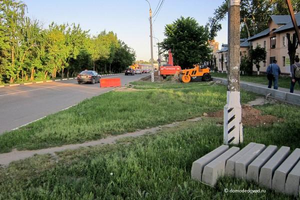 Парковочные карманы на улицах города (1)