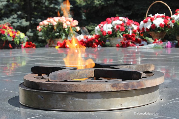Вечный огонь в Домодедово