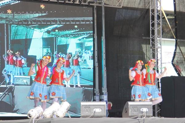 Концерт в Домодедово в День Победы