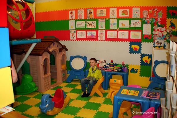 Игровая комната в кафе «Му-му». Аэропорт Домодедово
