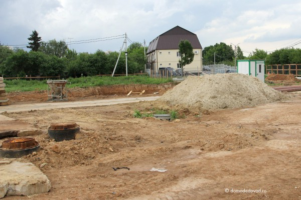 Строительство многоэтажного дома на улице Кирова