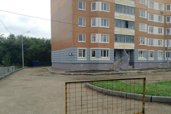 Новостройка СУ-155 на улице Ленинской в Домодедово