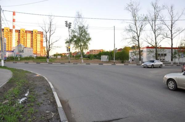 Улица Лунная в Домодедово