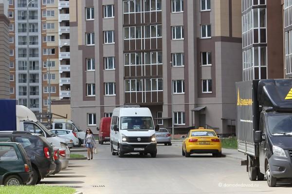 Маршрутка в Новом Домодедово