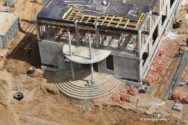 Строительство школы в Новом Домодедово