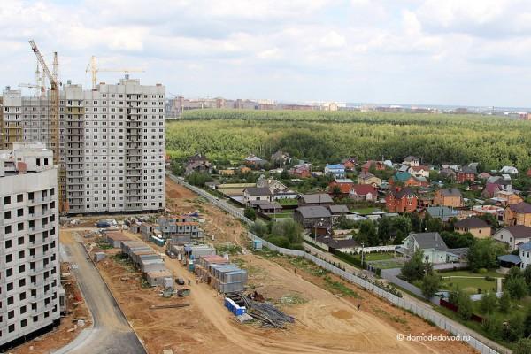 Новое Домодедово с высоты птичьего полета