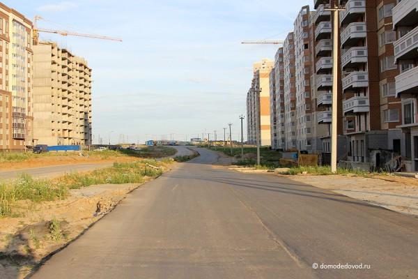 Дорога между Новым и Южным Домодедово