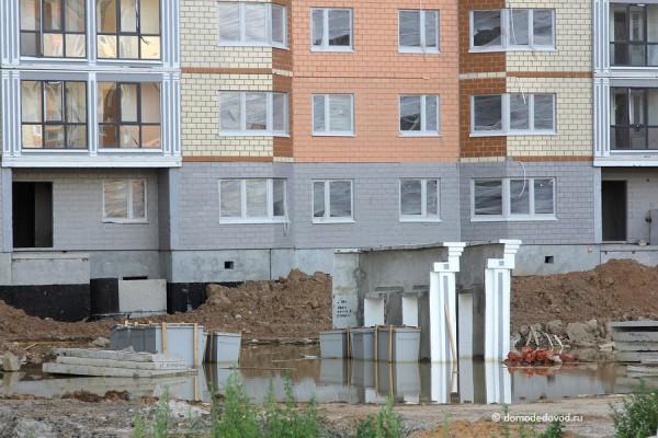 Дом в Южном Домодедово. СУ-155. Лужа