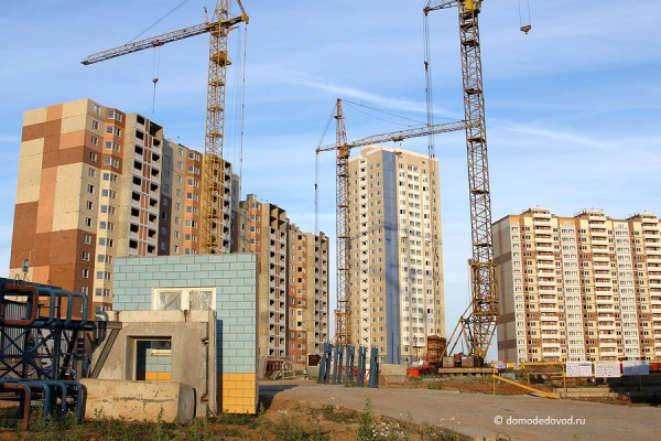 Начало строительства школы в Южном Домодедово