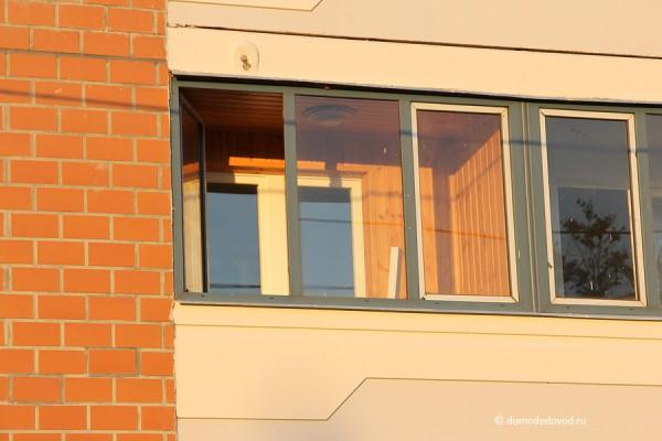 Новостройка СУ-155 на Ленинской.  Отремонтированный балкон