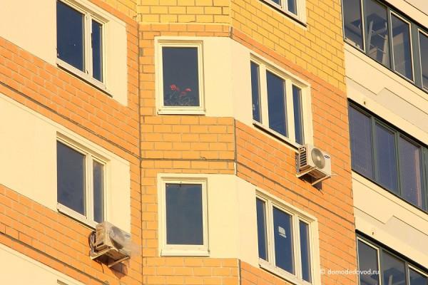 Новостройка СУ-155 на Ленинской. Цветы на окне