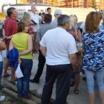 Диалог по Лунной: жители спрашивают – за администрацию отвечают экскаваторы