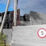 Новостройка «Гюнай» на пересечении улиц Центральная и 3-й Московский проезд