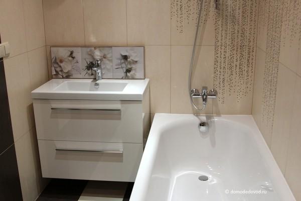 «Юсупово Лайф Парк». Пример отделки в ванной