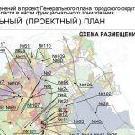 Генеральный (проектный) план городского округа Домодедово