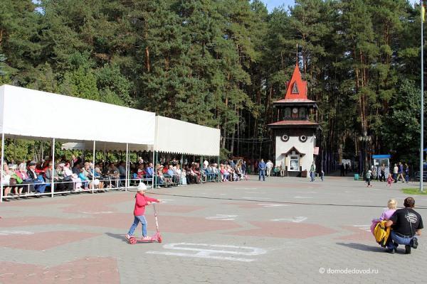 Жители Домодедово на празднике газеты «Призыв»