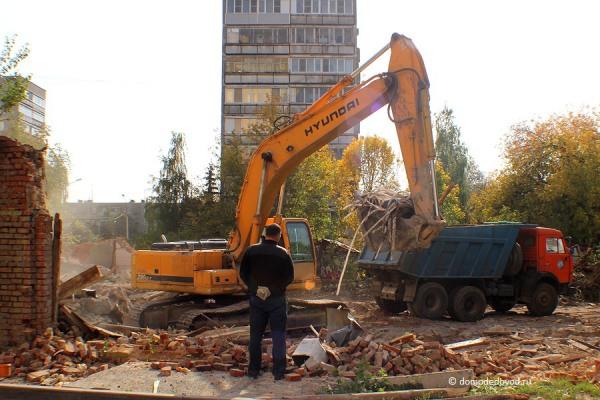 Снос дома на улице Ленинской и новостройка СУ-155 (5)