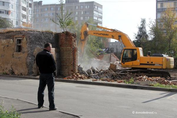 Снос дома на улице Ленинской и новостройка СУ-155 (4)