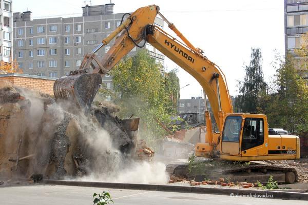 Снос дома на улице Ленинской и новостройка СУ-155 (3)