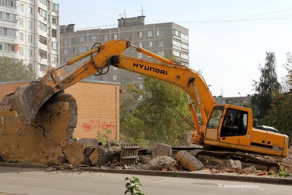 Снос дома на улице Ленинской и новостройка СУ-155 (2)