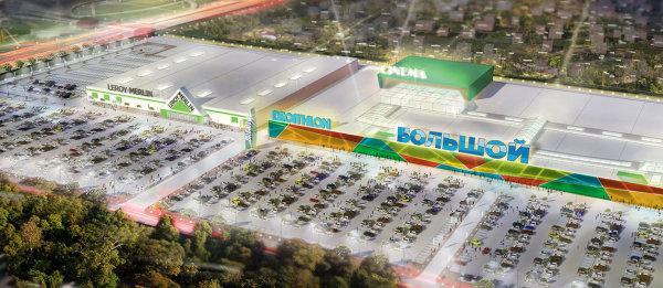 Эскиз будущего ТЦ «Большой» с сайта сoalco.ru