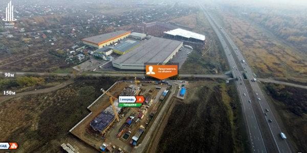 Город Счастья в Домодедово. Вид сверху