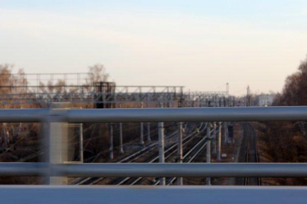 Эстакада на Белых Столбах. Октябрь 2014 года (8)