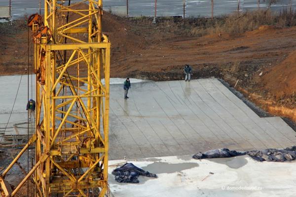 Фундамент нового дома на Текстильщиков
