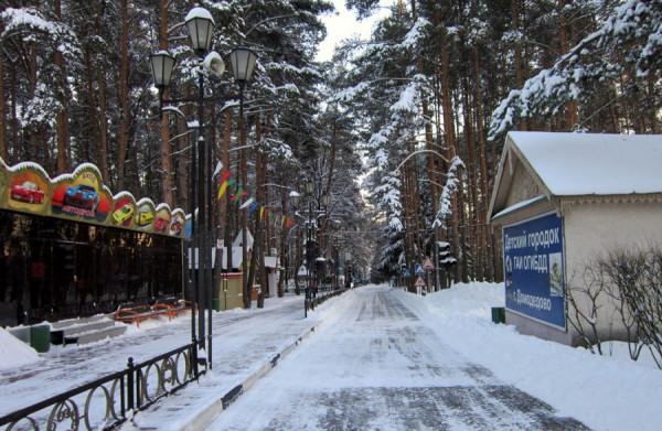 Парк Ёлочки