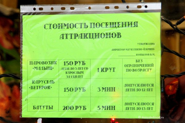 Городок аттракционов у администрации (9)