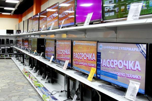 Телевизоры в DNS