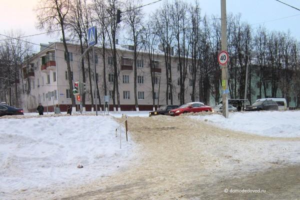 Пешеходные переходы в Домодедово