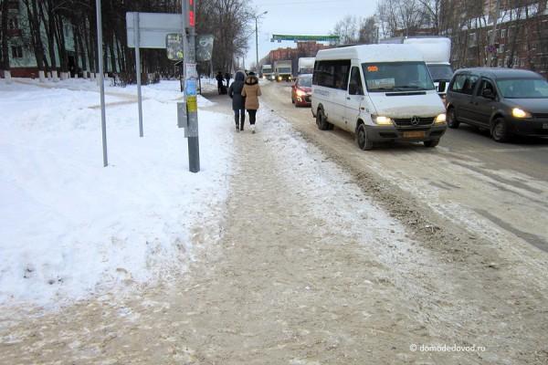 Пешеходный переход через Каширское шоссе
