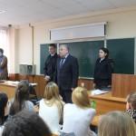 Акция «Студенческий десант» в полиции Домодедово