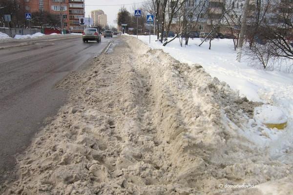 Город Домодедово. Кутузовский проезд