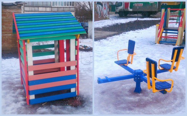 Детская площадка на Ленинской