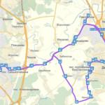 Расписание автобуса №57 «ст. Домодедово— ст. Подольск» 2015 год