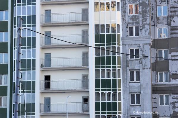 Многоэтажный жилой дом № 13, Московская область, г.Домодедово, мкр. Южный, ул. Курыжова, д.13.